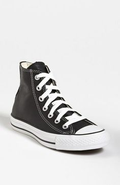 Converse Chuck Taylor® All-Star® Leather High Top Sneaker (Women) on