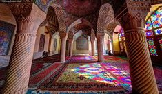 Mohammad Domiri, a talented architectural photographer from northern Iran, takes stunning photos of grandiose mosque architecture throughout the Middle East.