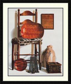 Pauline Campanelli Framed Art | All American - Pauline Eble Campanelli Art Print - Custom Framed and ...