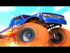 Monster Truck Offroad Legend Car Game Cartoon for Kids