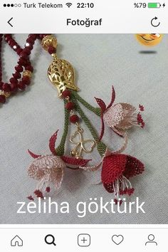 This Pin was discovered by Zeh Needle Lace, Needle And Thread, Point Lace, Lace Making, Beaded Flowers, Needlework, Piercings, Diy And Crafts, Embroidery