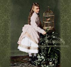 Princess Elisabeth of Hesse, future Grand Duchess Elizaveta Fyodorovna of Russia, martyred in 1918.