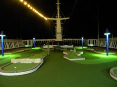 Miniature Golf on Carnival Paradise... Oh yeah...