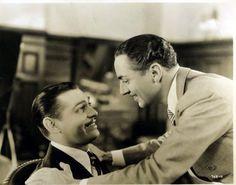 Clark Gable and William Powell