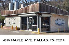Maple & Motor / Americana / Dinerish / Design District