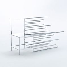Nendo has created a series of 50 chairs, which are each based on the abstract lines and grids used in graphics for manga-style comic books