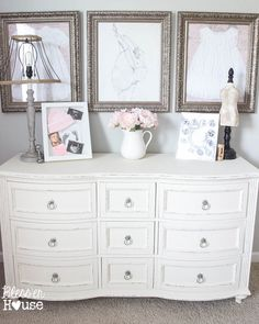 Ballerina Girl Bedroom Makeover Reveal Bless'er House - Such a sweet space on a budget!