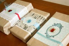 DIY Gift Wrapping Ideas     #embellishment #wrapping #gift