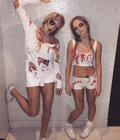 Why pay $50 or more on a Halloween costume that you would only wear once when you can make your own costume for a lot less. Plus, homemade costumes are creative and unique. You won't have to worry about running into someone with the exact same costume on! Thesecheap and easy DIY halloween costumes include …