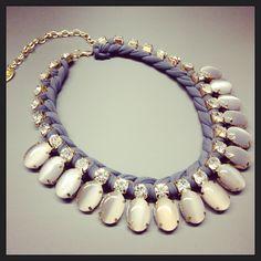 Statement necklace by Angelina heart Made like on Facebook or instagram @angelina pilarski