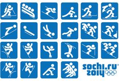 "Sochi 2014 Organizing Committee unveiled the pictograms of the 2014 Winter Olympic Games. The pictograms are based on those of the 1980 Summer Olympic Games in Moscow and, as the press release states, ""taking into account modern views."""