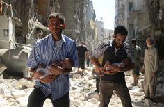 Las dos fotos de Siria que están dando la vuelta al mundo
