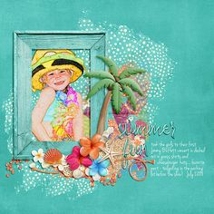 LDrag Designs | Hello Summertime  http://www.thedigichick.com/shop/Hello-Summertime-The-Collection-by-LDrag-Designs.html