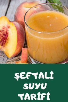 Şeftali Suyu Tarifi Cantaloupe, Pasta, Foods, Fruit, Drinks, Food Food, Drinking, Food Items, Beverages