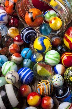 Jar Of Marbles By Garry Gay - (imagekind)