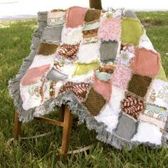Crazy beautiful quilts by my friend, Rebecca.  She can custom make them with scraps of your favorite fabrics--old clothes, keepsake handkerchiefs, etc.