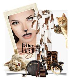 """Feline Fashion"" by kari-c ❤ liked on Polyvore featuring Dolce&Gabbana, Burton, Betsey Johnson, Kate Spade, Charlotte Tilbury and catstyle"
