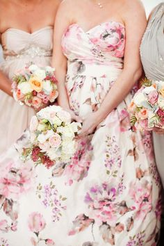 Gorgeous floral gown