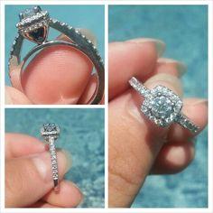 My perfect vera wang love engagement ring♡