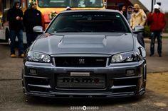 Nissan Gtr Skyline, Nissan 350z, R34 Gtr, Nissan Silvia, Drifting Cars, Jdm Cars, Subaru, Dream Cars, Automobile