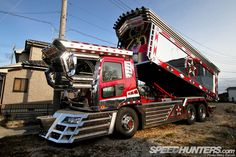 A Peek Into The Magical World Of Dekotora | Speedhunters