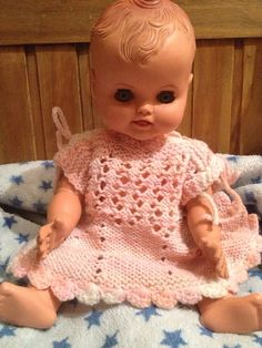 I named her Tingly Rene after a baby, Vintage 1950s Baby Doll With Red Moulded Hair. I still have mine.