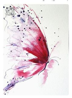 Coque et skin adhésive iPad 'A butterfly painted by fairies' par Medly Butterfly Drawing, Butterfly Painting, Butterfly Watercolor, Watercolor And Ink, Watercolour Painting, Painting & Drawing, Pink Butterfly, Art Papillon, Papillon Rose