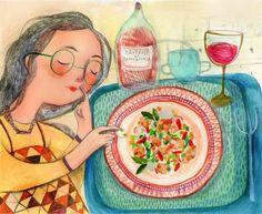 Pinzellades al món: alimentació