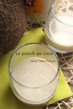 punch au coco antillais - recette clic sur photo