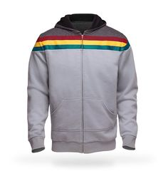 Zip-Up Hoodie Version of the Uniform Top Worn by Wesley Crusher (Wil Wheaton) on 'Star Trek: The Next Generation'