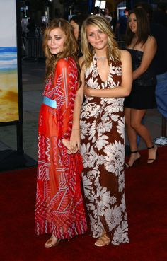 Olsen Twins at the MTv Music Awards | Mary Kate Olsen ashley olsen