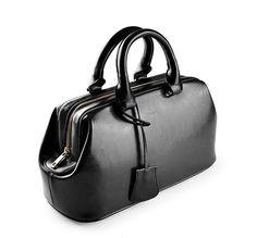 100% Genuine leather bag 2016 doctor retro famous designer brand bags women leather handbags suitcase  bolsos totes