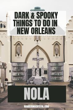 Dark Travel in New Orleans, things to do in New Orleans, Spooky things to do in New Orleans, ghost tours in the French Quarter, things to do in the french quarter New Orleans, French Quarter history, tours in New Orleans, cemeteries in New Orleans, Voodoo history in New Orleans, Marie Laveau's House of Voodoo, Voodoo Queen of New Orleans, things to do in NOLA, wanderingcrystal, haunted places to visit in New Orleans, vampires in New Orleans, St Louis Cemetery No 1 #NewOrleans #DarkTravel… St Louis Cemetery, Stuff To Do, Things To Do, New Orleans Travel, Ghost Tour, Haunted Places, French Quarter, Voodoo, Vampires