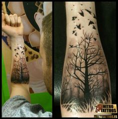 oak tree tattoo sleeve - Google Search