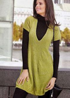 Short Sleeve Dresses, Dresses With Sleeves, Fashion, Knit Dress, Minimal Dress, Knitting Needles, Leotards, Sweater Vests, Jackets