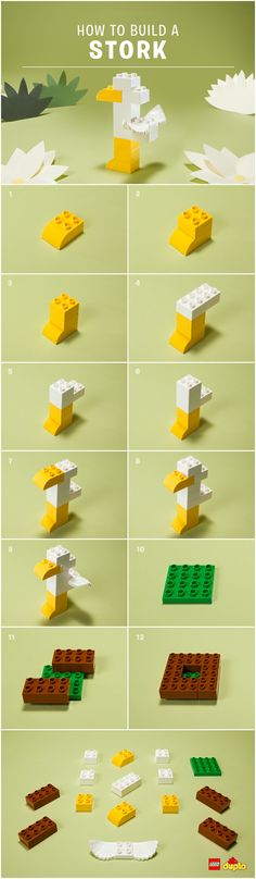 Look out for Mr. Stork and find out how to build your own LEGO DUPLO long-legged friend! Check out our building instructions here: http://www.lego.com/da-dk/family/articles/make-a-special-delivery-with-the-lego-duplo-diy-stork-412dd7e2d647433a995174a07cb5a507