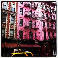 Pink building in NYC! #VSPINK #NYCLove