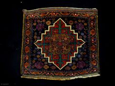 Memluk Gul Belouch Bagface Size: 70x65cm (2.3x2.2ft) Natural colos, made in circa 1910