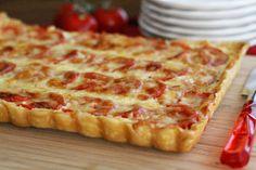 Irresistable Plum Tomato Tart