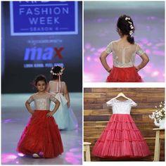 Kids Indian Wear, Kids Ethnic Wear, Little Girl Dresses, Girls Dresses, Flower Girl Dresses, Pageant Dresses, Little Girl Fashion, Fashion Kids, Kids Gown