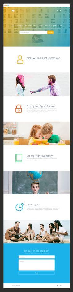 Strona stworzona ewidentnie z myślą o użytkownikach jabłuszek, ale przyznaję, że jest bardzo estetyczna.