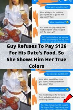 #Guy Refuses To Pay $126 For His #Date's Food, So She #Shows Him Her True #Colors Wtf Funny, Funny Jokes, Hilarious, Bars And Melody, Beauty Tips For Face, Funny Pictures, Smoke Pictures, Nature Pictures, Cool Pins
