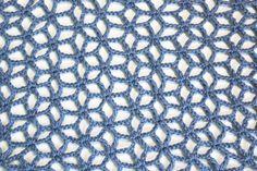 Punto flor estrellada crochet - Vídeo Tutorial & Chart <3