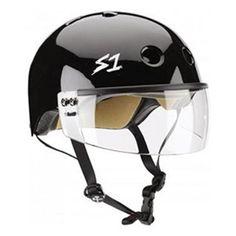 S1 Lifer Visor Helmet Gen 2 Black Gloss – Lucky Skates