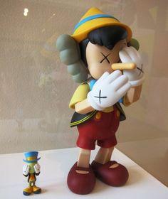 Pinocchio by Kaws
