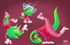 Cretaceous breakdancers by jmsf-co