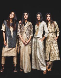 By Stella Blu asian fashion India Fashion, Ethnic Fashion, Modern Fashion, Asian Fashion, Womens Fashion, Western Outfits For Women, Clothes For Women, Indian Dresses, Indian Outfits