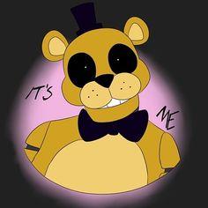 Freddy S, Fnaf Golden Freddy, Five Nights At Freddy's, Rick And Morty Stickers, Fnaf Night Guards, Fnaf 1, Fnaf Drawings, Chicano, All Art