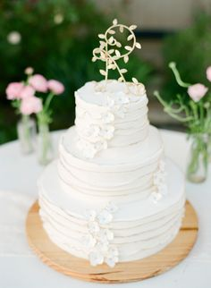 I love wedding cakes- vintage iced white cake- too bad they cost so much! - Lane Dittoe Photo