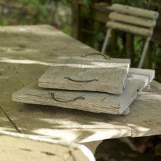 Reclaimed Wood tray from Nkuku